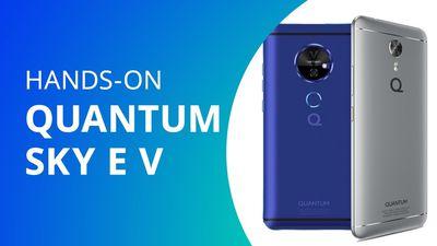 Quantum V: smartphone com projetor laser [Hands-on / Lançamento]