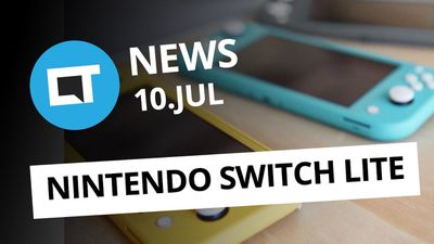 Nintendo lança Switch Lite mais barato e portátil [CT News]