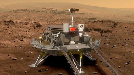 Missão chinesa Tianwen-1 deve ser lançada rumo a Marte em julho desde ano