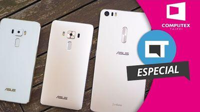Zenfone 3, Zenfone 3 Ultra e Zenfone 3 Deluxe [Especial | Hands-on | Computex 20