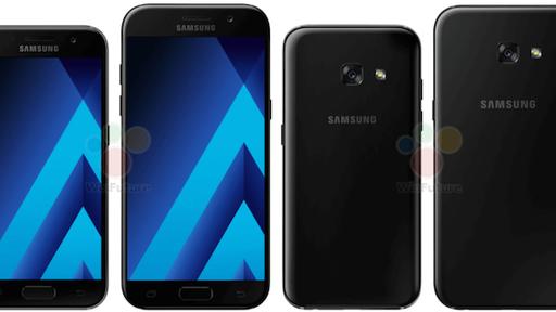 Galaxy A3 e A5 (2017) aparecem em fotos publicitárias oficiais vazadas