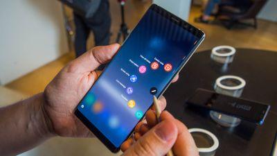 Galaxy Note 9 começa a receber atualização do Android 9 Pie