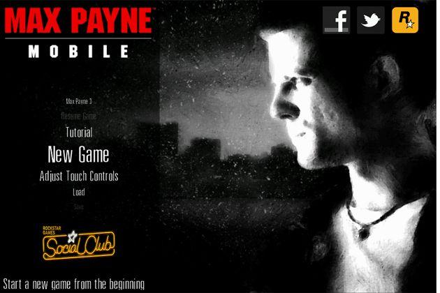 Max Payne no iOS