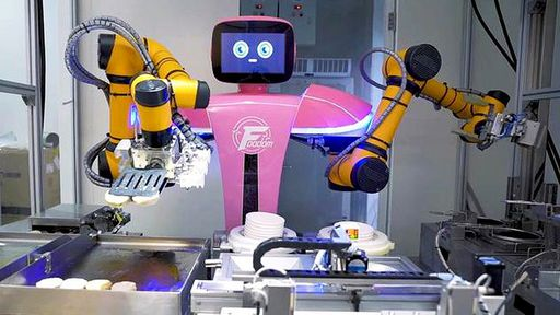 China ganha primeiro restaurante onde robôs são os cozinheiros
