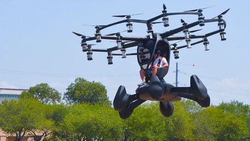 Força Aérea Americana testa seu primeiro carro voador com sucesso