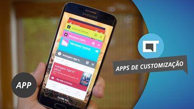 Melhores apps para customizar seu Smartphone [Dica de App]