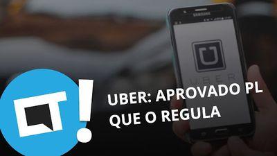 Câmara aprova projeto de lei que regula apps como o Uber [Plantão CT]