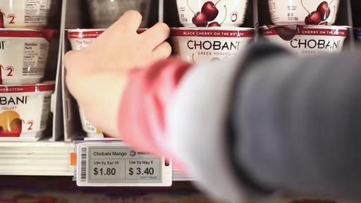 Tecnologia reduz automaticamente o preço de alimentos próximos ao vencimento