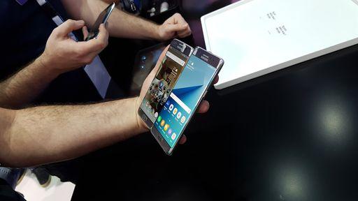 Recall: Samsung suspende lançamento do Galaxy Note7 após explosões