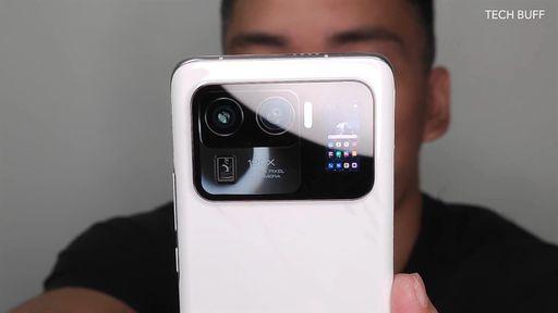 Suposto Mi 11 Ultra aparece em imagens reais com módulo de câmeras bem inusitado