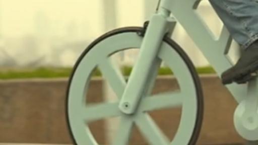 Bicicleta feita de papelão custa apenas US$ 9 e é super resistente