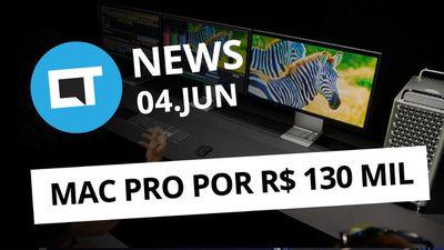 Sistema operacional da Huawei; Mac Pro pode custar até R$ 130 mil; e + [CT News]