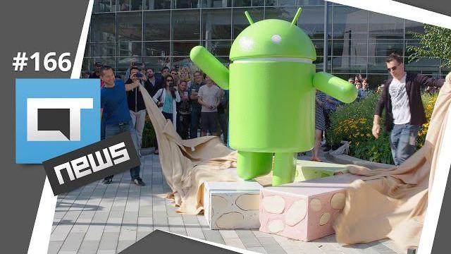 Novo Android Nougat, pornografia no Facebook Live, casamento de smartphone e + [