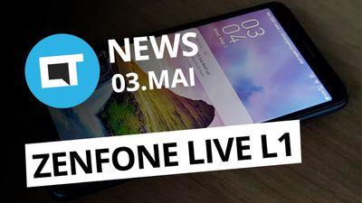 Asus Zenfone com Android Go; Rede social para jogos do Google e+ [CT News]
