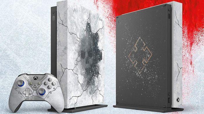 Microsoft anuncia edição especial do Xbox One X para o lançamento de Gears 5