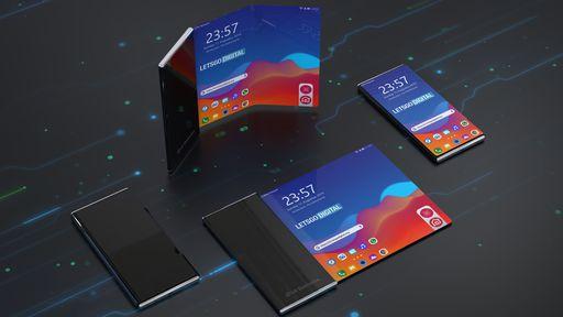 LG patenteia celular com tela dobrável e enrolável ao mesmo tempo