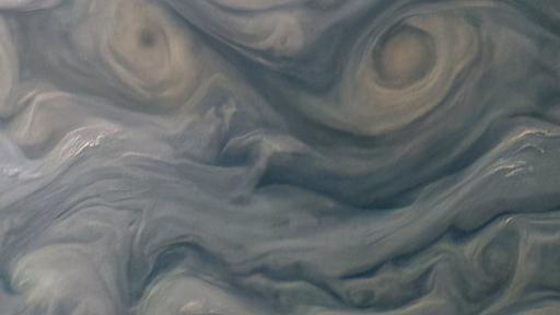 Tempestades de Júpiter parecem estar de mau humor em foto da NASA