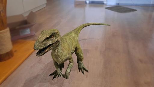 Como colocar dinossauros em 3D na sua casa com a realidade aumentada do Google