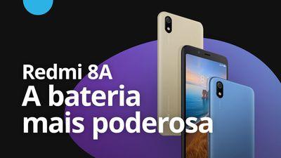 Redmi 8A: Xiaomi lança smartphone bateria mais poderosa da linha [CT News]