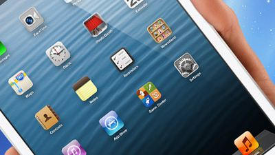 Seriam as bordas finas do iPad mini um problema para apoiar os dedos?