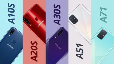 Galaxy A10s, A20s, A30s, A51 e A71 [Comparativo]
