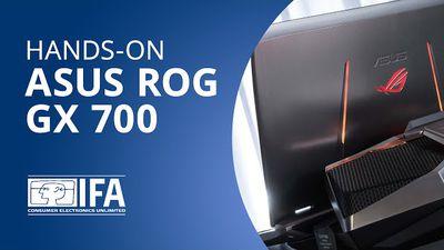 ASUS ROG GX 700: o laptop gamer com refrigeração a água [Hands-on | IFA 2015]