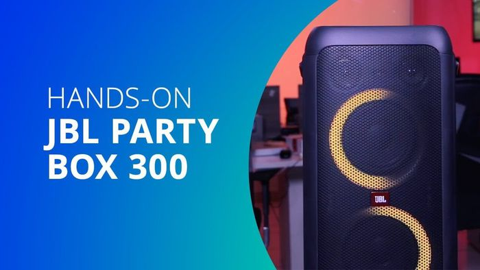 JBL PARTYBOX 300: Hands-on