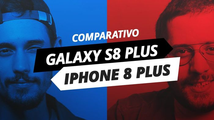 fc0d1c94fe34a Galaxy S8 Plus x iPhone 8 Plus  duelo de gigantes  Comparativo