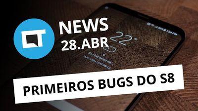 Bugs no S8; Facebook e Google caem em golpe milionário; Nintendo 2DS XL [CTNews]