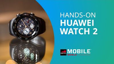 Huawei Watch 2 [Hands-on MWC 2017]