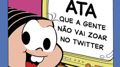 Turma da Mônica chega ao Twitter e a internet não sabe como reagir