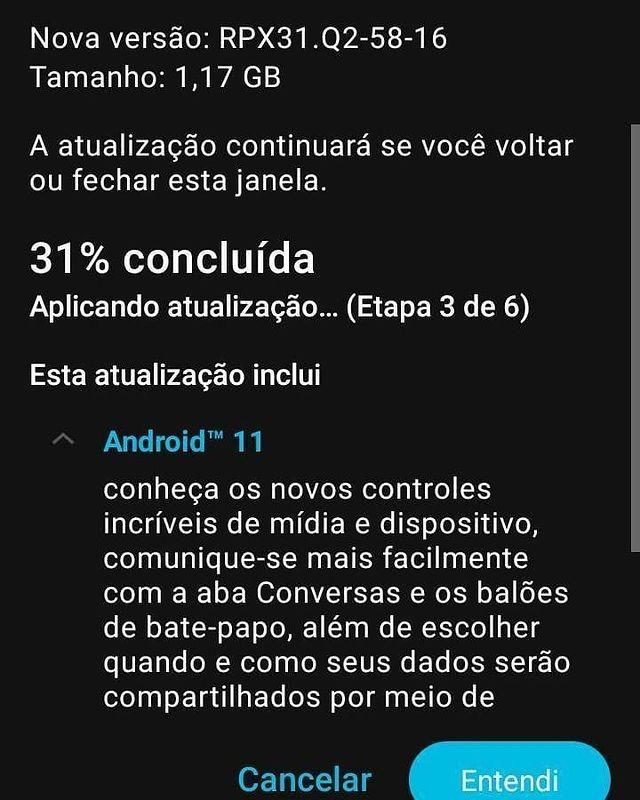 Atualização já começou a ser disponibilizada de forma gradativa no Brasil (Créditos: TudoCelular)