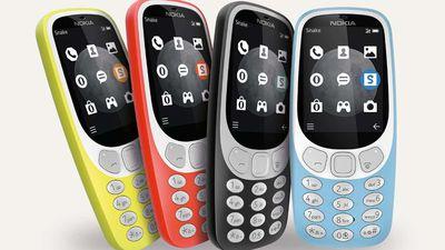 Relançamento do Nokia 3310 com 3G já começou a ser vendido nos EUA