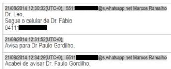 Lula Lava Jato WhatsApp