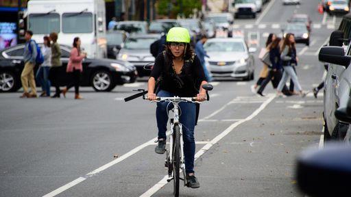 Dados biométricos de ciclistas ajudam a projetar ruas mais seguras