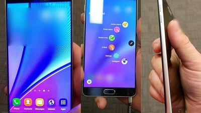 Surgem as primeiras imagens da versão final do Samsung Galaxy Note 5
