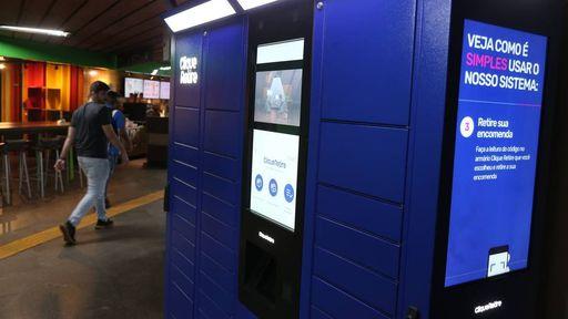 Metrô do RJ terá armários para retirada de produtos comprados pela internet