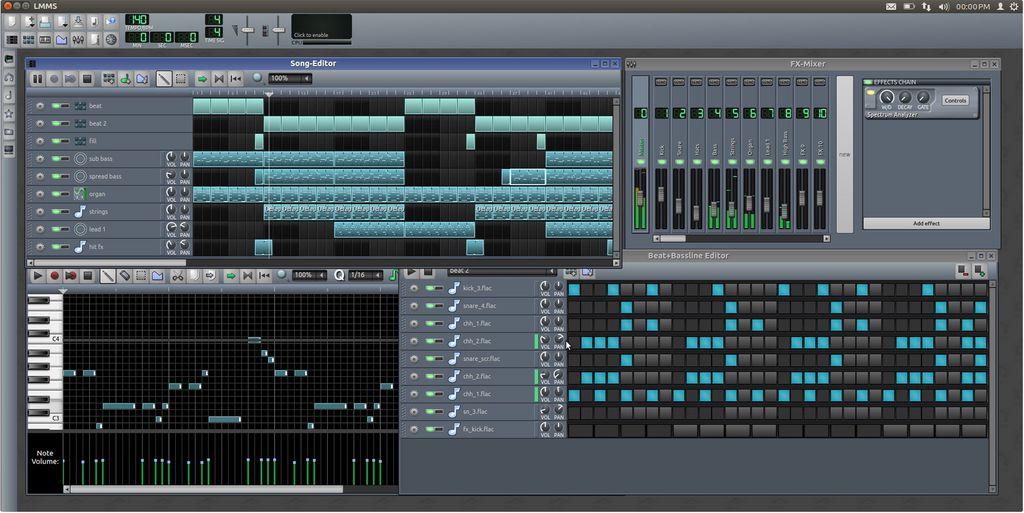 Editor de áudio no Linux