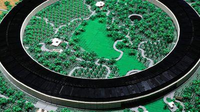 Miniatura de campus da Apple é construída com 85 mil peças de LEGO