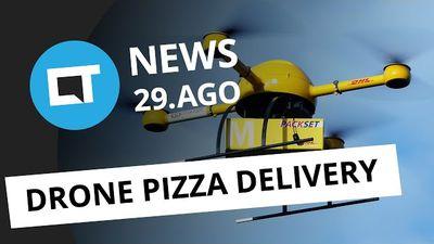 iPhone 7 tem pré-venda iniciada, pizza entregue por drones em 2018 e + [CTNews]