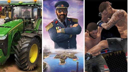 Game Pass   UFC 4, Tropico 6, Farming Simulator 19 e mais chegam em julho