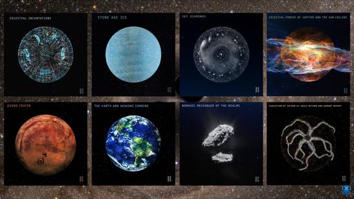Sons do universo: ouça músicas que transformam eventos cósmicos em arte