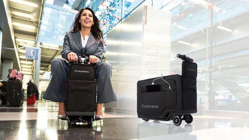 Conheça a Modobag, a mala motorizada que também recarrega smartphones e tablets