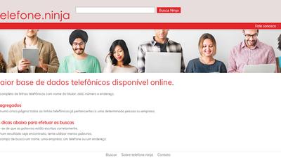 Telefone.ninja: site divulga e-mails, endereços físicos e números de telefone