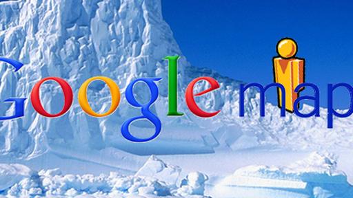 Venha ver: Google Maps visita a paisagem gélida da Antártida