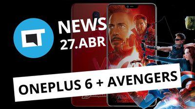 OnePlus 6 versão Avengers; Nike é acusada de usar software pirata e + [CT News]