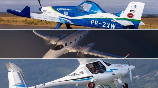 Aviões elétricos: conheça os projetos que já são realidade