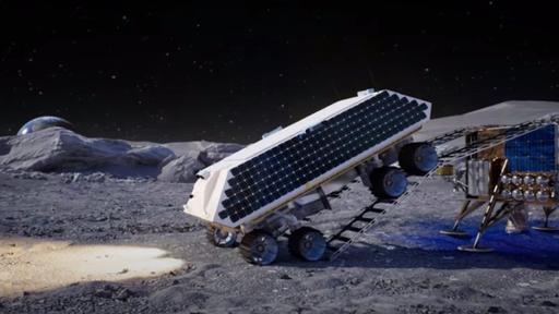 Quebrando o gelo: empresas propõem usar motor de foguete para minerar gelo lunar