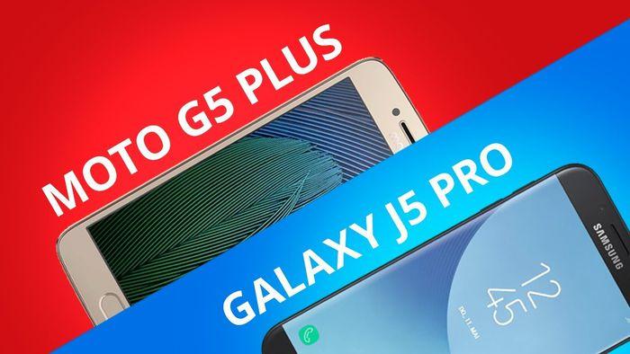 38f67745e Moto G5 Plus vs Galaxy J5 Pro  Comparativo  - Vídeos - Canaltech