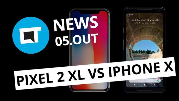 Google Pixel 2 XL vs iPhone X  Instagram Stories se integra ao Facebook  CT  News - Vídeos - Canaltech e71e35648dc